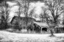 Dilapidated Barns, Mundy Township, MI